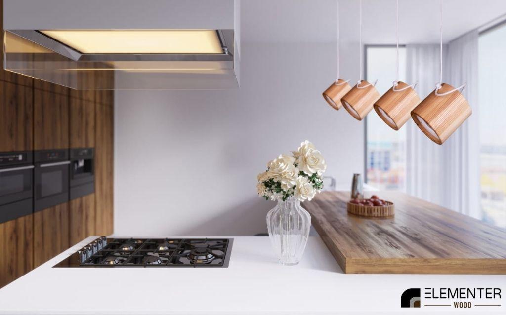drewniany reflektor