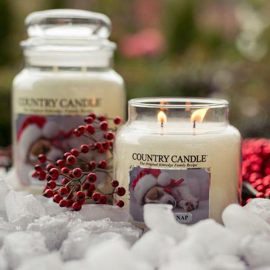 świąteczne świece zapachowe