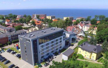 Skal - hotel nad morzem... Tam chce się żyć!